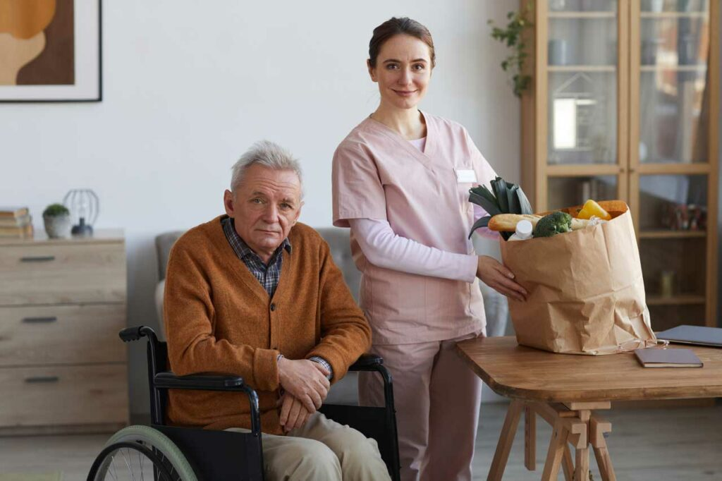 Patient Caregivers Houston Caregivers near me Katy Texas Houston Texas Spring Texas Woodlands Texas River Oaks Texas in home care in home assistance senior care elderly care near me services patient and caregiver Elderly Nutrition
